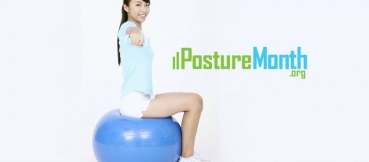 core control posture exercise with ball