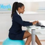 use a ball for office chair